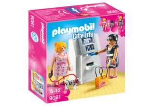 Конструктор 9081 PLAYMOBIL® City Life, Банкомат цена и информация | Конструкторы и кубики | pigu.lt