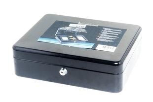Metalinė dėžutė pinigams Xpert kaina ir informacija | Seifai | pigu.lt