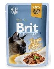 Konservai katėms BRIT PREMIUM Tuna in Gravy, 85g