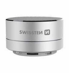 Swissten Bluetooth 4.0 Bluetooth Wireless Speaker with Micro SD / Phone Call Function / Metal case / 3W / Silver