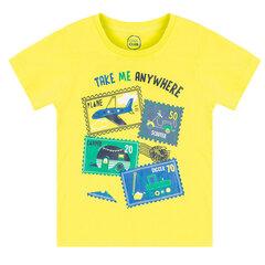 Cool Club trumparankoviai marškinėliai berniukams, CCB1612114