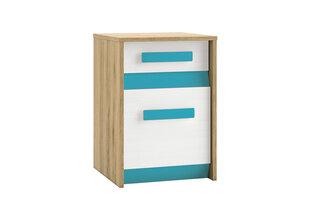 Spintelė Best 11, ąžuolo/mėlynos spalvos kaina ir informacija | Vaiko kambario baldai | pigu.lt