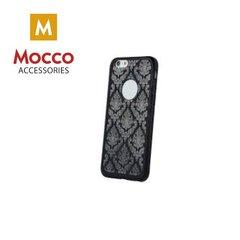 Mocco Ornament Back Case Silicone Case for Apple iPhone 6 / 6S Black kaina ir informacija   Telefono dėklai   pigu.lt