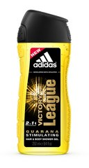 Dušo želė Adidas Victory League vyrams 250 ml