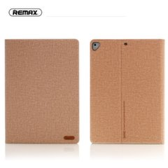 Planšetinio kompiuterio dėklas Remax Pure Series Ultra Slim, skirtas Apple iPad 9.7'' (2017), su LCD indikatoriumi, rudas