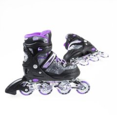 Reguliuojamo dydžio riedučiai Nils Extreme NA1118A, violetiniai