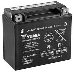 Akumuliatorius Yuasa AGM 18-18,9Ah 0,93L YTX20H-BS