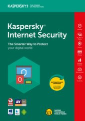 Kaspersky Internet Security Multi-Device 2018 nauja licenzija (1 įreng.)
