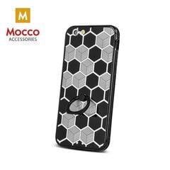 Mocco Ring Силиконовый чехол для Samsung A310 Galaxy A3 (2016) Черный - Золотой