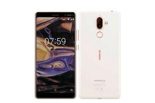 Nokia 7 Plus 64GB, Dual SIM, Balta kaina ir informacija | Mobilieji telefonai | pigu.lt