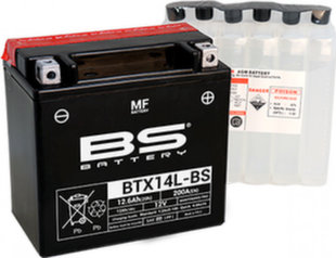 Akumuliatorius BS-Battery BTX14L-BS 12V 12.6Ah