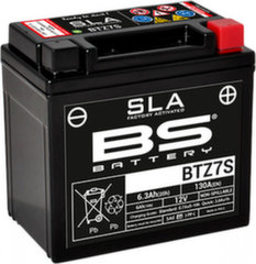 Akumuliatorius BS-Battery BTZ7S 12V 6.3Ah