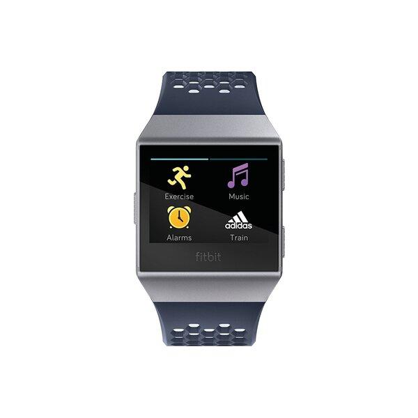Fitbit Ionic, Adidas edition, Ink Blue/Ice Gray/Silver Gray internetu