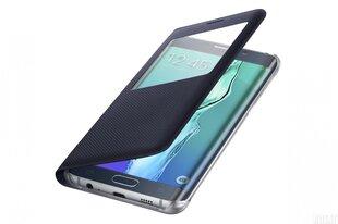 Prekė su pažeista pakuote. View cover for Galaxy S6 Edge plus G928 (Black)