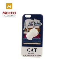 Telefono dėklasMocco 4D Silikone Back Case With White Cat, skirtas Xiaomi Redmi 4X kaina ir informacija | Telefono dėklai | pigu.lt