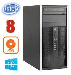 HP 6200 PRO MT G620 8GB 250GB DVD WIN10Pro kaina ir informacija | Stacionarūs kompiuteriai | pigu.lt