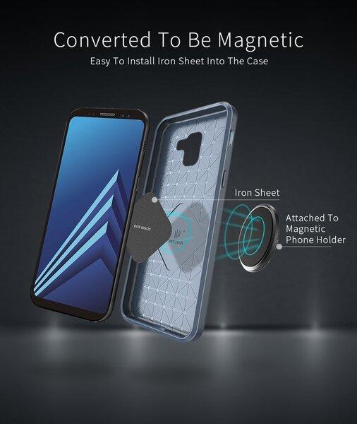 Telefono dėklasDux Ducis Mojo Case, skirtas Apple iPhone X telefonui, juodas pigiau