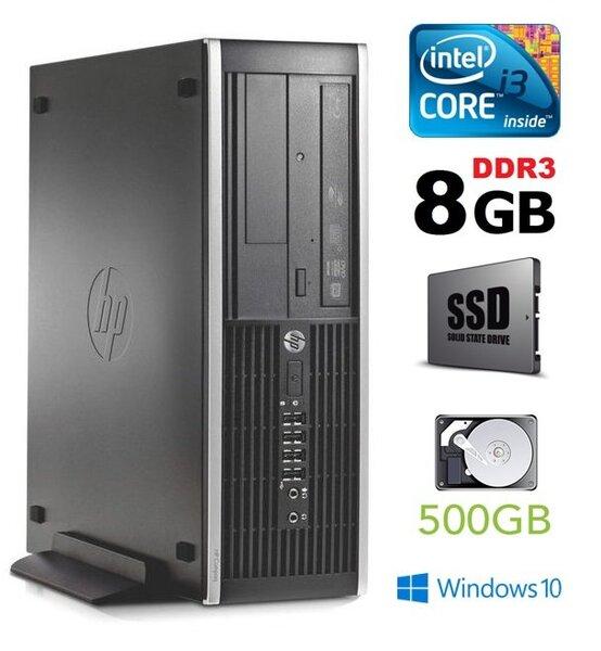 HP 6300 PRO SFF i3-3220 8GB 120SSD+500GB DVD WIN10Pro