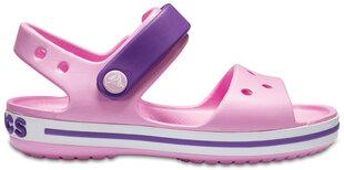 Crocs™ basutės Crocband Sandal, Carnation / Amethyst