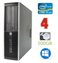 HP 8300 Elite SFF i5-3470 4GB 500GB DVDRW WIN10Pro