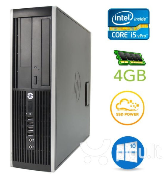 HP 8300 Elite SFF i5-3470 4GB 120SSD DVDRW WIN10Pro