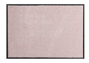 Hanse Home durų kilimėlis Soft & Clean Pink, 90x200 cm