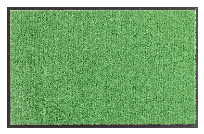 Hanse Home durų kilimėlis Soft & Clean Green, 75x120 cm