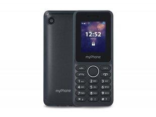 MyPhone 3320, Dual SIM, Juoda