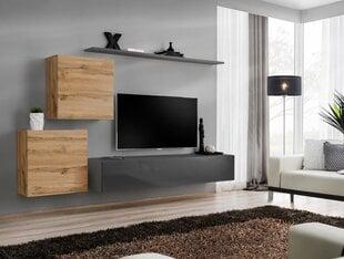 Sekcija Switch V, ąžuolo/pilkos splavos kaina ir informacija | Sekcijos | pigu.lt