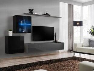 Sekcija Switch XV, juoda/pilka kaina ir informacija | Sekcijos | pigu.lt