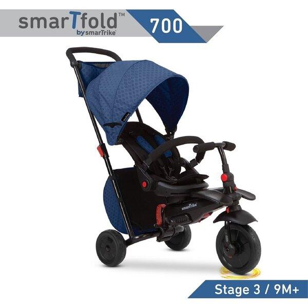Triratukas SmartTrike 700, 8 in 1, mėlynas