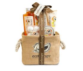 Vonios rinkinys IDC Institute Ecotherapy Mango & Papaya Basket