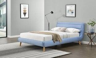 Lova Halmar Elanda 140x200 cm, mėlyna kaina ir informacija | Lovos | pigu.lt