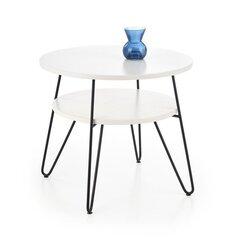 Kavos staliukas Ezra, baltas/juodas