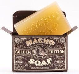 Barzdos muilas Macho Beard Golden Edition 150 g kaina ir informacija | Barzdos muilas Macho Beard Golden Edition 150 g | pigu.lt
