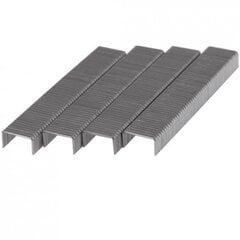 Metaliniai segtukai Dedra 8mm  pakuotėje 1000vnt.; kaina ir informacija | Mechaniniai įrankiai | pigu.lt