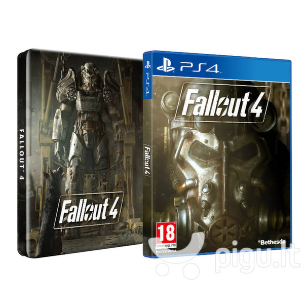 Žaidimas Fallout 4 Steelbook Edition, PS4