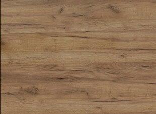 Virtuvinis stalviršis 210 cm, rudas