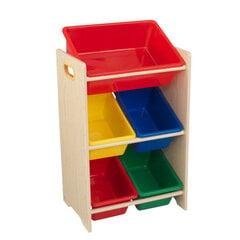 Vaikiška 5 dėžių lentyna Kidkraft, ąžuolo spalvos