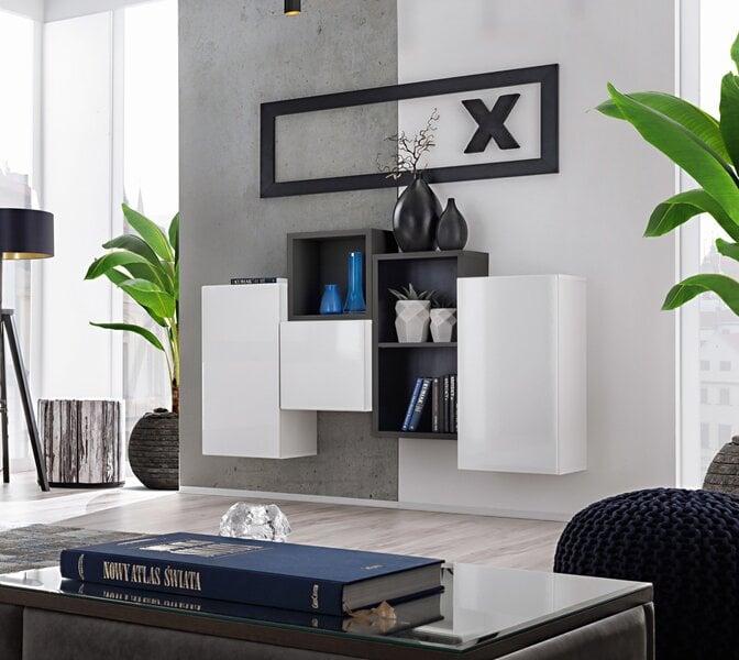 Sekcija Blox 3, balta/juoda