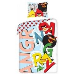 Patalynės komplektas Angry Birds, 2 dalių kaina ir informacija | Patalynė kūdikiams, vaikams | pigu.lt