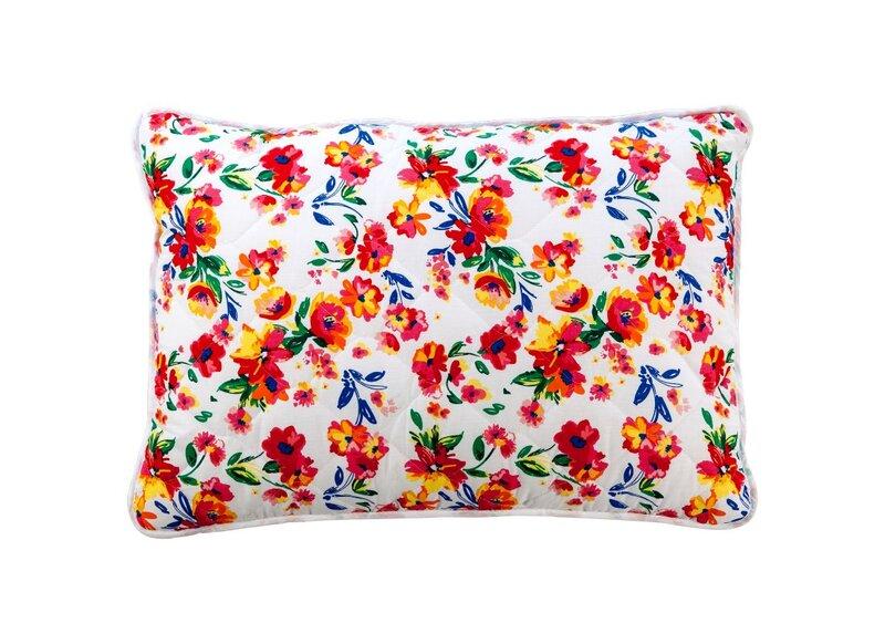 COMCO gėlėta daigstyta pagalvė BASIC, 60x60 cm