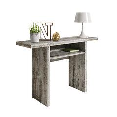 Stalas - konsolė Italia, pilkas kaina ir informacija | Komodos, spintelės | pigu.lt
