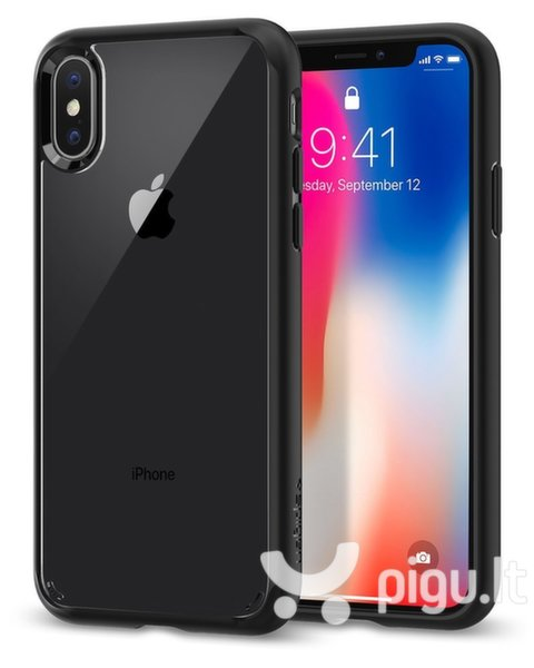 Apsauginis dėklas Apple iPhone X Defence Ultra Cover By Xdoria Midnight Blue