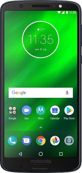 Motorola Moto G6 Plus, Juoda