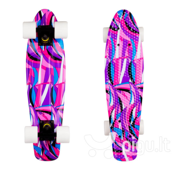 "Riedlentė Pennyboard WORKER Colory 22"", violetinė"