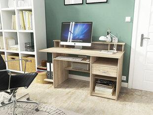 Письменный стол P4, цвет дуба цена и информация | Письменный стол P4, цвет дуба | pigu.lt