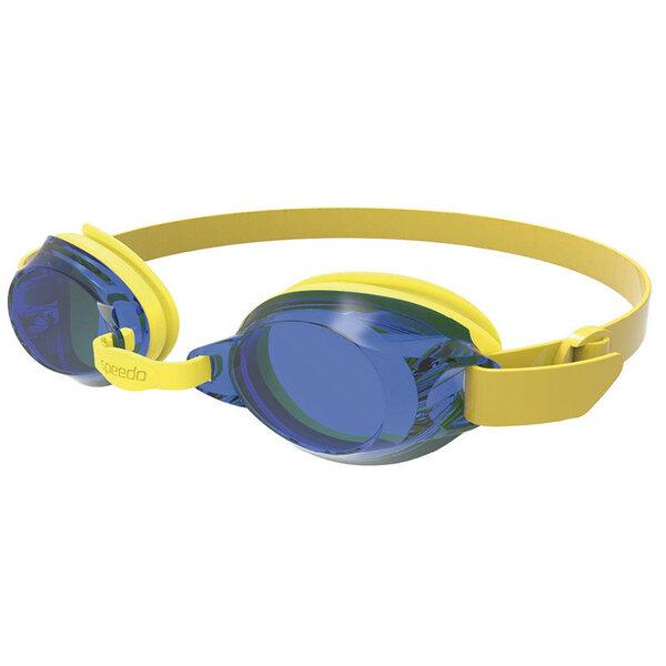 Plaukimo akiniai vaikams Speedo Jet Junior, geltoni-mėlyni