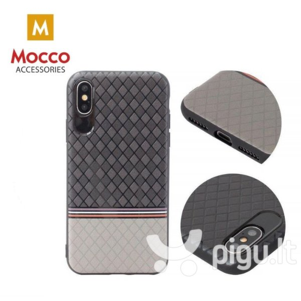 Mocco Trendy Grid And Stripes Силиконовый чехол для Samsung G950 Galaxy S8 Серый (Pattern 2) интернет-магазин