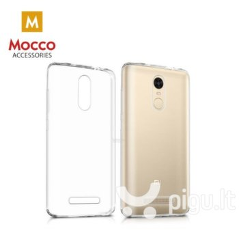 Apsauginis dėklas Mocco Ultra Back Case 0.3 mm Silicone Case Huawei Y5 (2018) Transparent